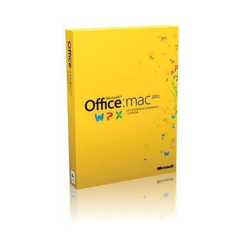 Microsoft Office dla Mac Home & Student 1 licencja 2011 PL (bez płyty DVD) GZA-00289 z kategorii Programy biurowe i narzędziowe