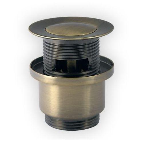 Produkt z kategorii- pozostałe artykuły hydrauliczne - Korek click-clack mosiądz antyczny KOM Novoterm