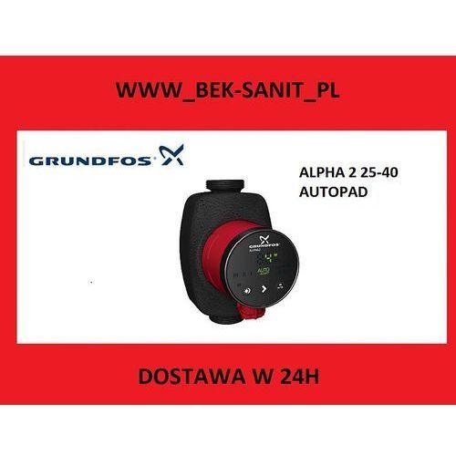 Grundfos  pompa co alpha 2 autoadapt 25-40, kategoria: pozostałe ogrzewanie