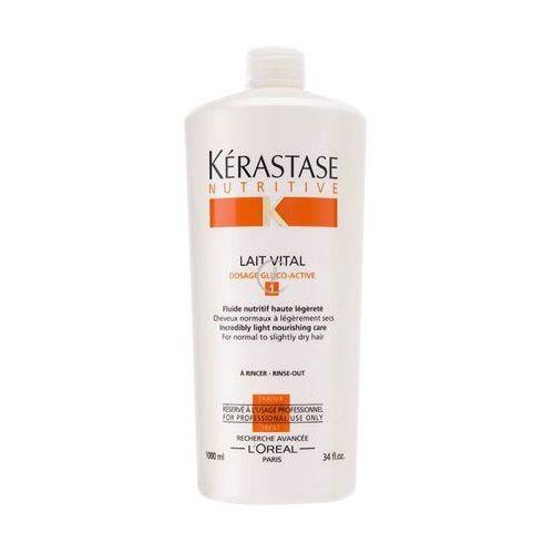 Kerastase NUTRITIVE LAIT VITAL Mleczko odżywcze do włosów normalnych i lekko suchych (1000 ml) - produkt z kategorii- odżywki do włosów