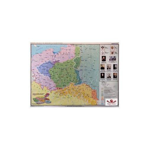 Produkt Ziemie polskie po kongresie wiedeńskim. Mapa ścienna, marki Meridian