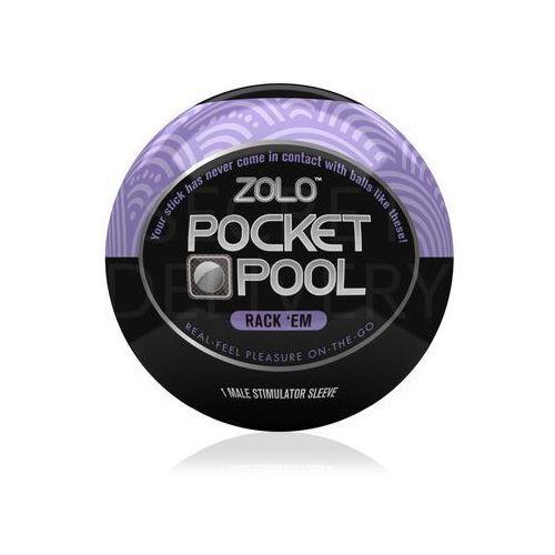 Zolo Pocket Pool Rack 'Em mini masturbator - oferta [254adea25fb30452]