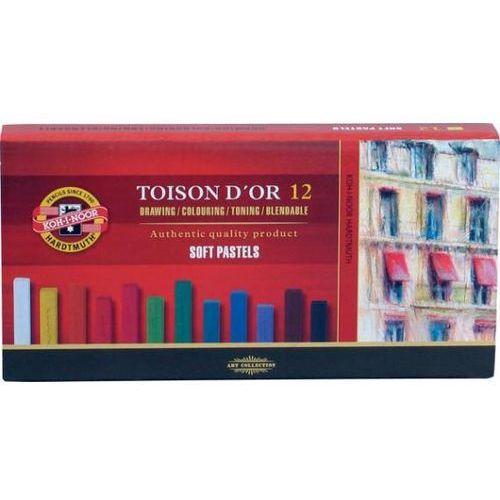 Pastele suche Koh-i-noor Toison D`or 12 kolorów - oferta [3536d942731f926c]