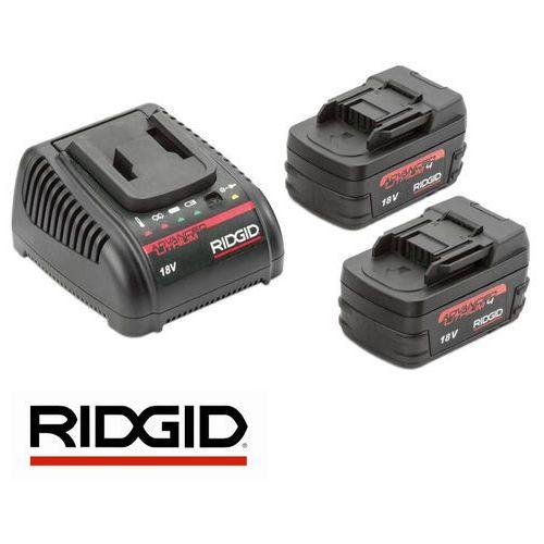 RIDGID Zestaw 2 baterii i 1 ładowarki 45433, kup u jednego z partnerów