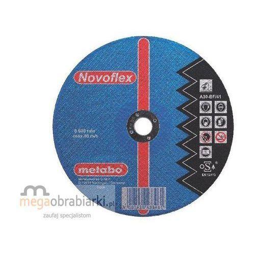 METABO Tarcza tnąca do stali 125 mm (25 szt) Novoflex A 30 płaska RATY 0,5% NA CAŁY ASORTYMENT DZWOŃ 77 415 31 82 ze sklepu Megaobrabiarki - zaufaj specjalistom