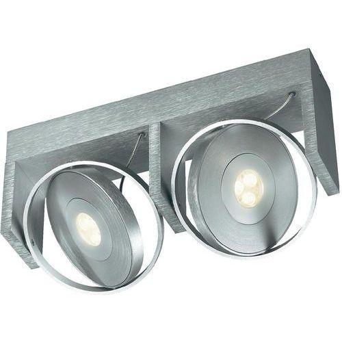 Lampa LED punktowa Philips 53152/48/16, 2 x 6W (40W), 350lm, 2700K, 230V, IP20 Srebrny z kategorii oświetlenie
