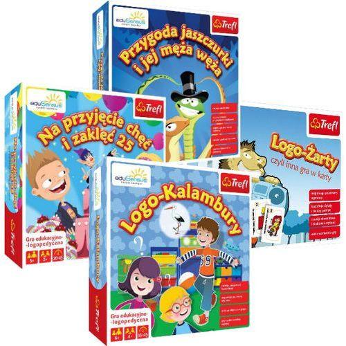 Produkt z kategorii- pozostałe oprogramowanie - Pakiet 4 gier planszowych eduSensus