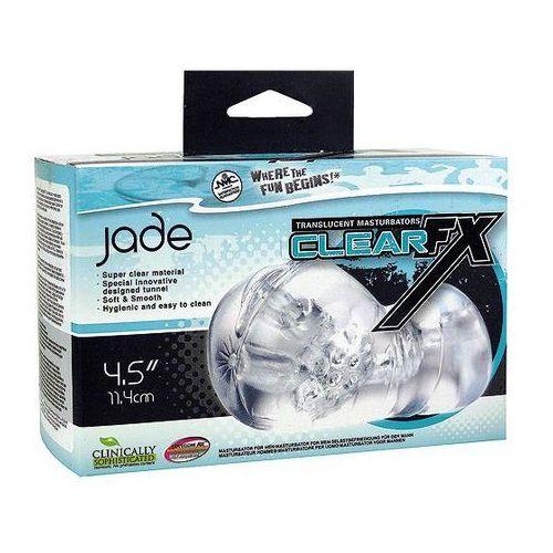 Masturbator Clear FX Jade - oferta [05d54a7fc795d36d]