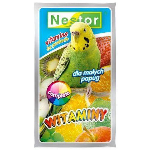 NESTOR 20g Witaminy ogólne Complete dla papużek falistych, Nestor