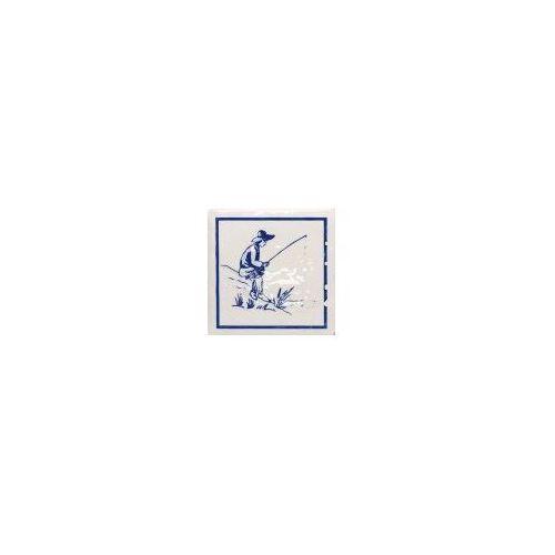 Tubądzin Dekor ścienny Majolika Haga 1D 11,5x11,5 cm (glazura i terakota)