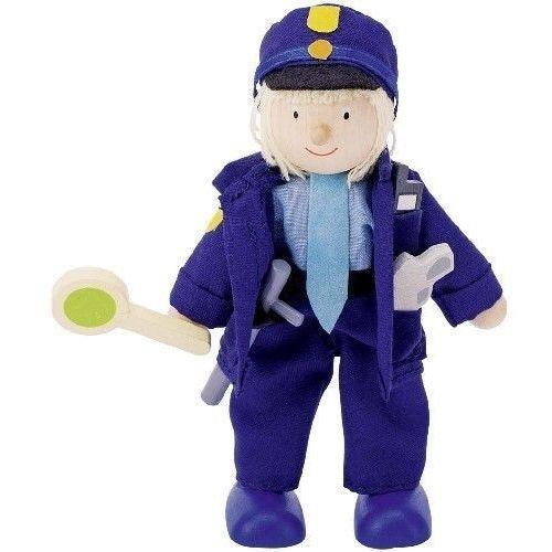 Postać do teatrzyku - policjant (pacynka, kukiełka)