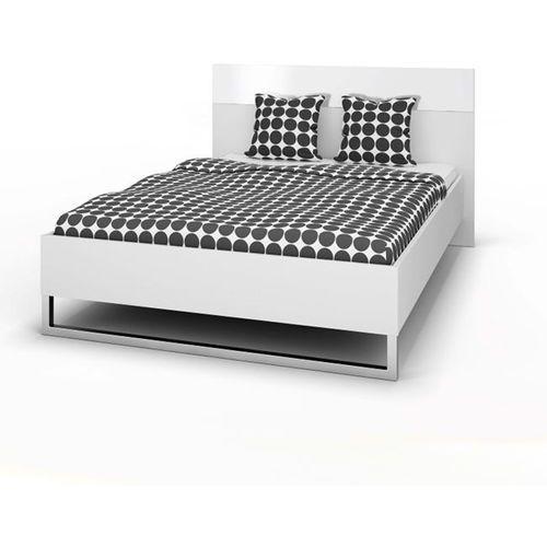 STYLE łóżko 160x200cm zestaw - biały ze sklepu Meble Pumo