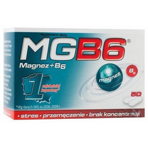 MgB6 50 tabl., postać leku: tabletki