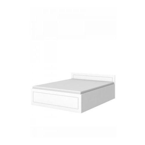 Łóżko L1 160/200 - Baggi Decco - White ze sklepu DecoMania.pl