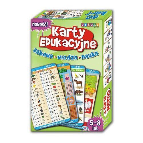 Karty edukacyjne. Nauczanie początkowe - Komplet 60 kart. - oferta [25b7d3a19f43e539]