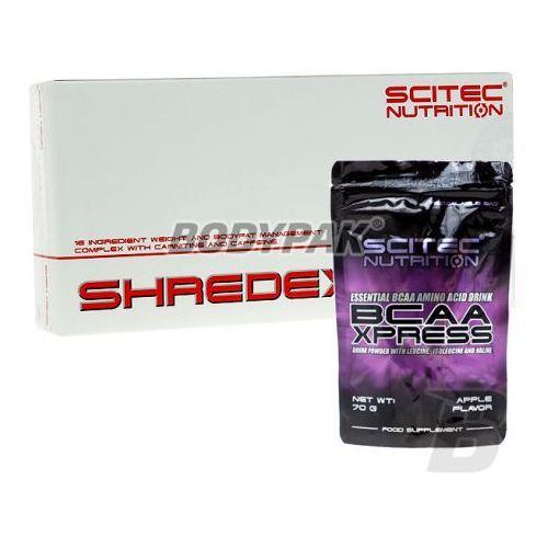 Scitec shredex - 108 kaps. + bcaa xpress - 70g wyprodukowany przez Scitec nutrition