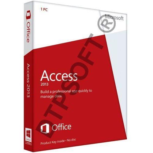 Microsoft Access 2013 32-bit/x64 Medialess PL Win - produkt z kategorii- Pozostałe oprogramowanie