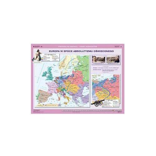 Europa w dobie rewolucji francuskiej/Europa w epoce absolutyzmu oświeconego. Mapa ścienna., produkt marki Nowa Era