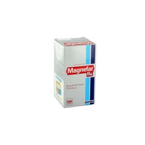 Magnez-Biofarm (Magnefar) tabl. 0,034 g Mg2+ 100 tabl. (pojem.), postać leku: tabletki
