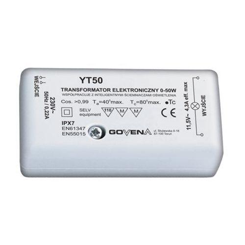 Artykuł Govena transformator elektroniczny 0-50W 12V z kategorii transformatory