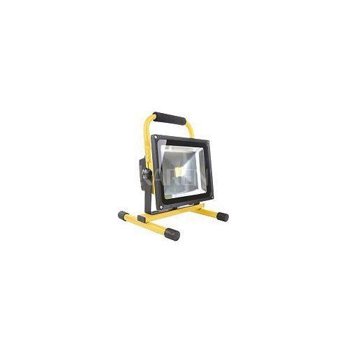 Whitenergy  Naświetlacz LED 30W|6000K|2400lm|IP65| na stojaku z kat. pozostałe oświetlenie zewnętrzne