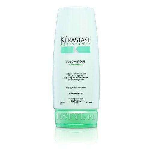 Kerastase Volumifique - Mleczko nadające objętość włosom cienkim 200ml - produkt z kategorii- odżywki do włosów