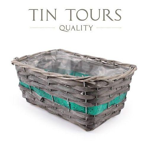 Produkt PROSTOKĄTNY KOSZYK WIKLINOWY 32x20x14 cm, marki Tin Tours Sp.z o.o.