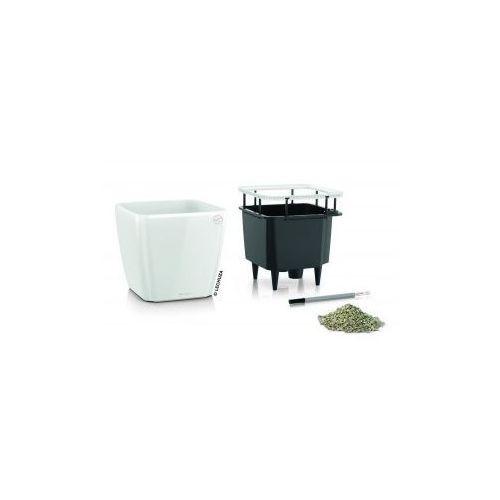 Produkt Donica -  - Quadro LS 35 - biała połysk, marki Lechuza
