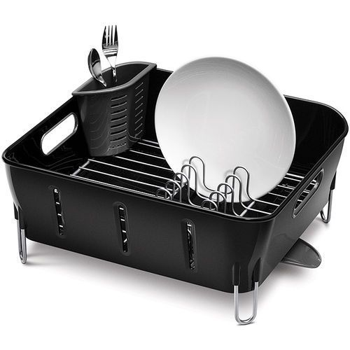 Suszarka do naczyń Compact SimpleHuman czarna - produkt z kategorii- suszarki do naczyń