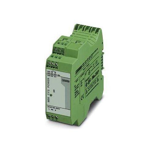 Zasilacz na szynę DIN Phoenix Contact MINI-SYS-PS-100-240AC/ 24DC/1.5 2866983, 24 V/DC 1.5 A z kategorii Tran