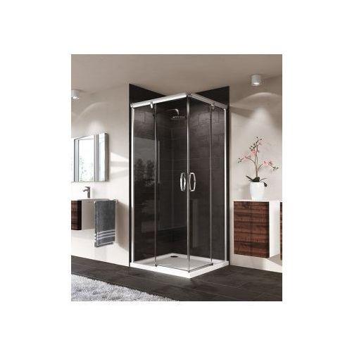 HUPPE AURA ELEGANCE 4-kąt wejście narożnikowe,drzwi suwane 2-częściowe 401301 (drzwi prysznicowe)