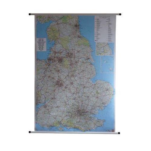 Anglia i Walia. Mapa ścienna drogowa 1:400 000 wyd. , produkt marki Freytag&Berndt