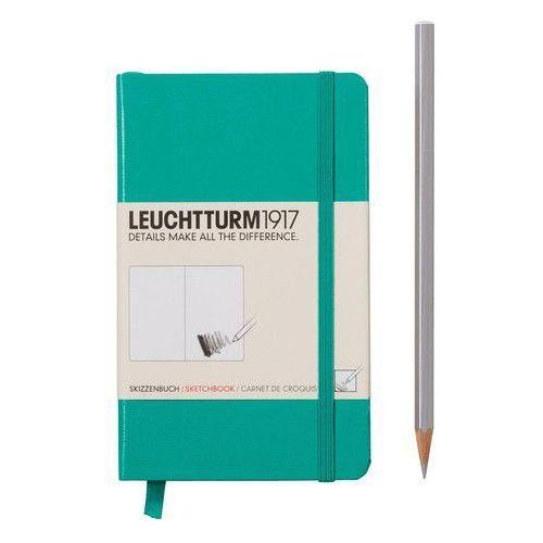 Szkicownik Pocket Leuchtturm1917 gładki szmaragdowy 344993 - oferta [25aed6a37fe375ed]