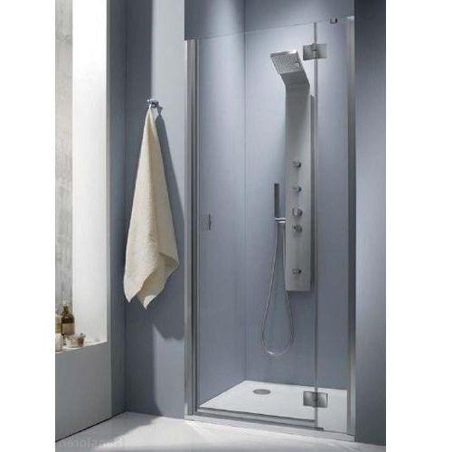 Essenza DWJ Radaway 100 prawe drzwi wnękowe brązowe - 32722-01-08NR (drzwi prysznicowe)