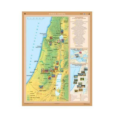 Ziemia Święta. Mapa ścienna., produkt marki Nowa Era