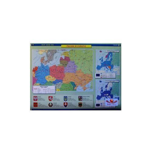 Produkt Europa. Podział polityczny / Polska w Europie. Mapa ścienna Europy., marki Nowa Era