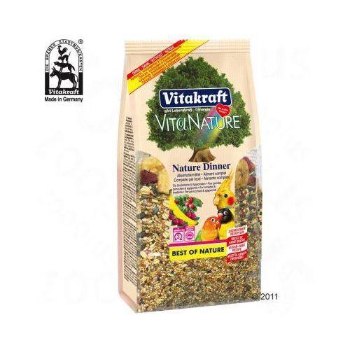 Vita Nature pokarm dla papug średnich i papużek nierozłączek - 3 x 750 g, Vitakraft