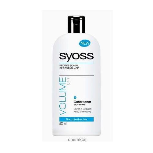 Produkt z kategorii- pozostałe kosmetyki do włosów - Syoss Volume Lift odżywaka do włosów 500 ml.