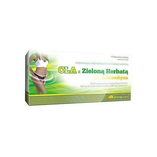 cla z zieloną herbatą + l-karnityna 60 tab. wyprodukowany przez Olimp