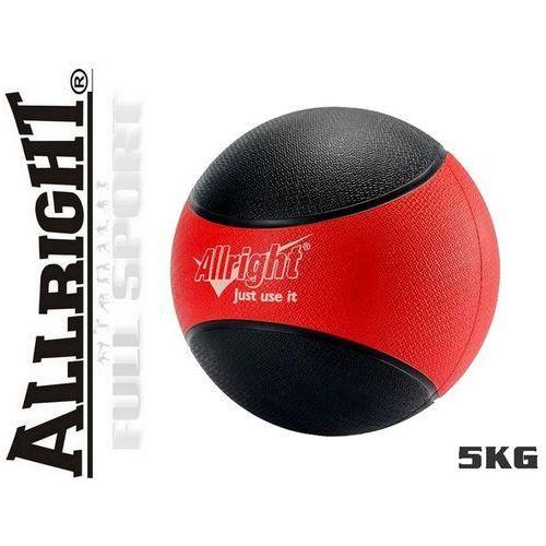Produkt 5kg - Piłka lekarska Allright - gumowa