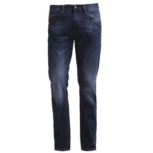 Mustang OREGON Jeansy Straight leg blue denim - produkt z kategorii- spodnie męskie