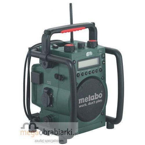 METABO Akumulatorowe radio na budowę RC 14.4 - 18, kup u jednego z partnerów