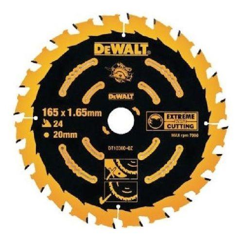 Oferta DT10300 DeWALT EXTREME tarcza piła tarczowa do drewna 165mm 20otwór 24 zęby