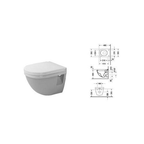 Duravit Starck 3 muszla wc podwieszana 2202090000 ()