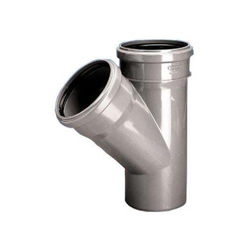 Trójnik PVC-U kan. wew. 50x50/45 p HT WAVIN ()