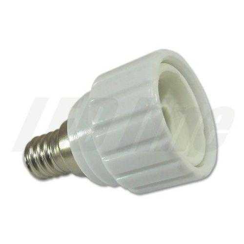 LED line Przejściówka adapter żarówki E14 > GU10 3017 z kategorii oświetlenie