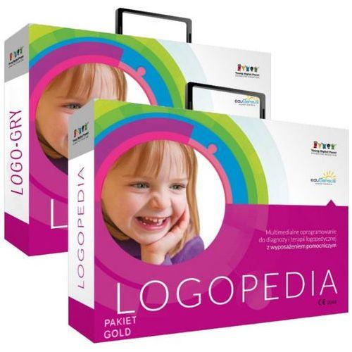 Produkt z kategorii- pozostałe oprogramowanie - Pakiet: Logopedia pakiet GOLD + Logo-Gry