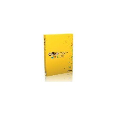 MICROSOFT OFFICE HOME & STUDENT ESD 2011 1 MAC 32-BIT/64-BIT PL z kategorii Programy biurowe i narzędziowe