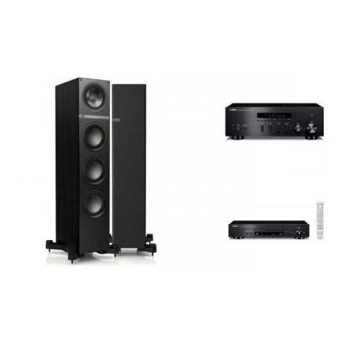 YAMAHA R-S300 + CD-N301 + KEF Q500 czarne - Tanie Raty za 1%
