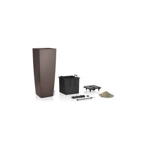 Produkt Donica -  - Cubico Alto 40 - espresso mat, marki Lechuza